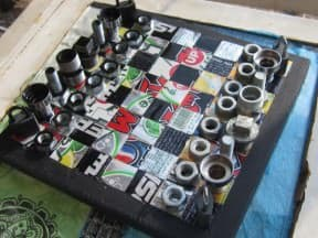 Recycled Chess board