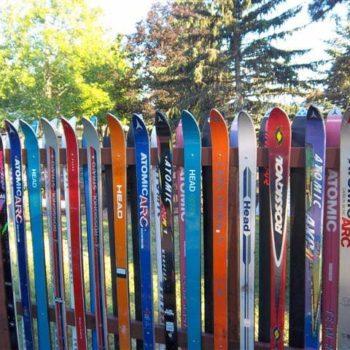Snow Ski Fence