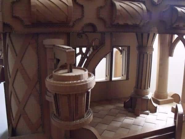 Cardboard Castle Do-It-Yourself Ideas Recycled Cardboard