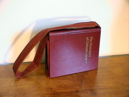 Hardcover book purse