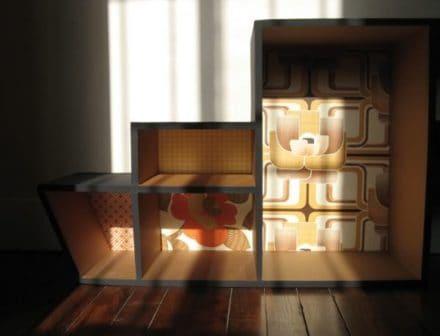 Cardboard shelf