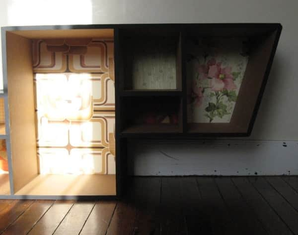 Cardboard shelf Recycled Cardboard