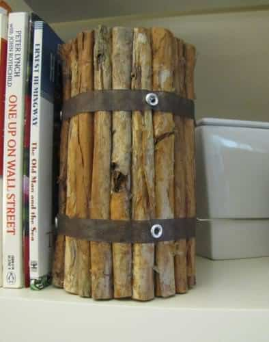 Diy : Faux Driftwood Votive Accessories Do-It-Yourself Ideas Wood & Organic