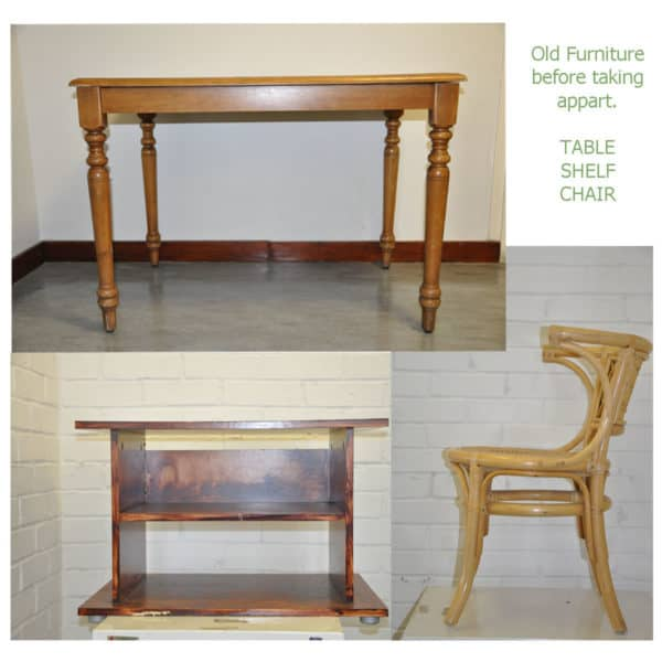 Hybrid-hallway Furniture Do-It-Yourself Ideas Recycled Furniture