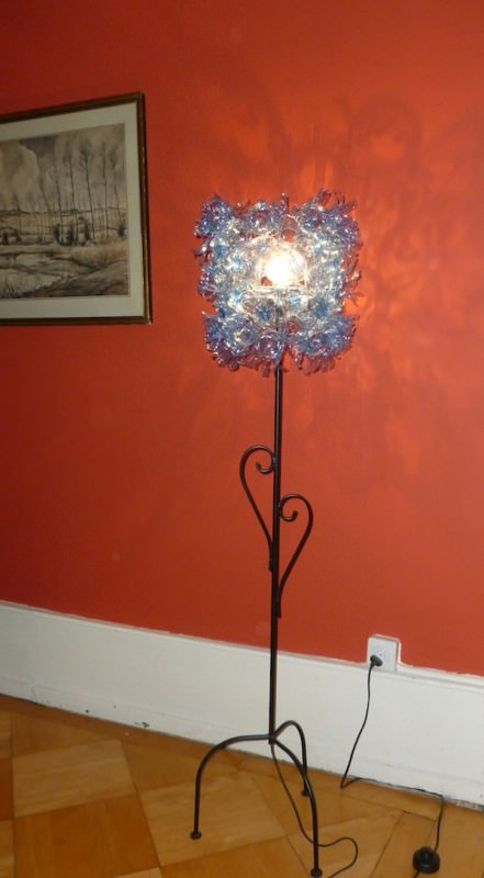 Recycled PET Bottle into Lamp Lamps & Lights Recycled Plastic