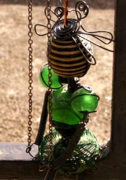 Lady Flower marionette