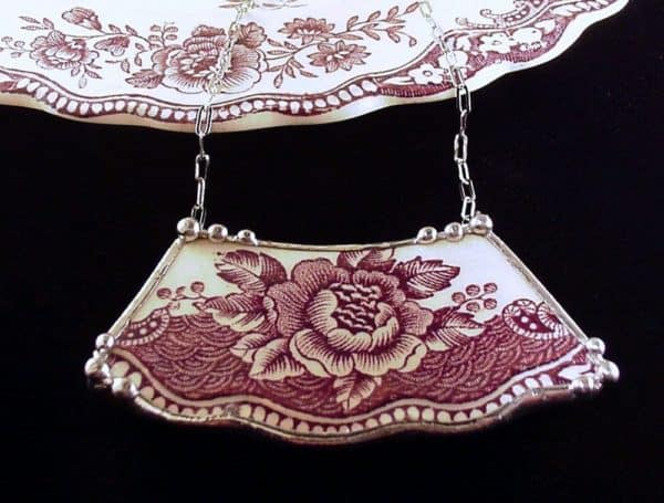 Dishfunctional Designs: Broken China Jewelry Accessories Upcycled Jewelry Ideas