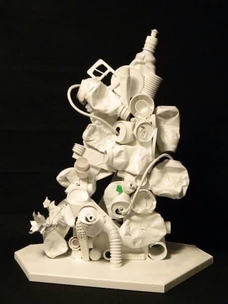 Trash-Art Recycled Art