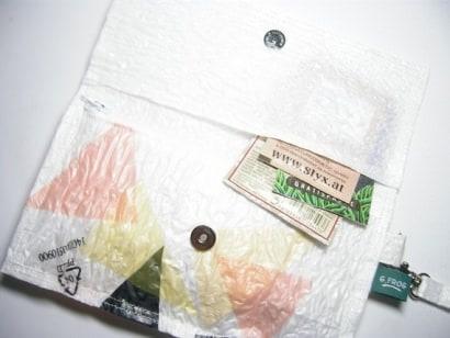 Plastic bags wallet