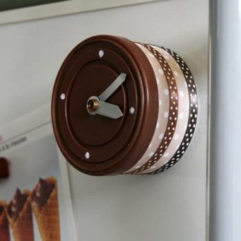 DIY: Tuna can clock
