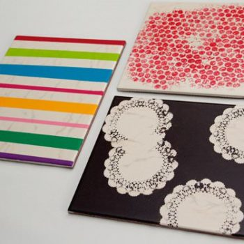 Tiles Upcycled Into Table Mats
