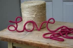 Valentine's Day ideas from recycled Materials