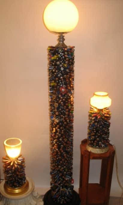 2000 battery lamp