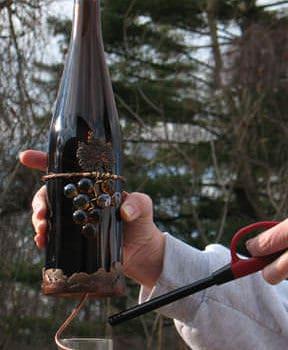 Hanging Wine Bottle Illuminations