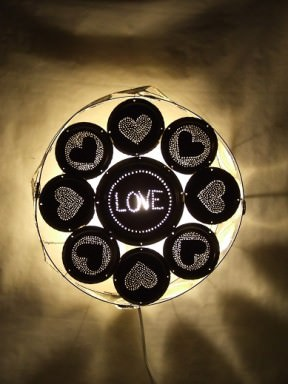 Love Wall Lamp