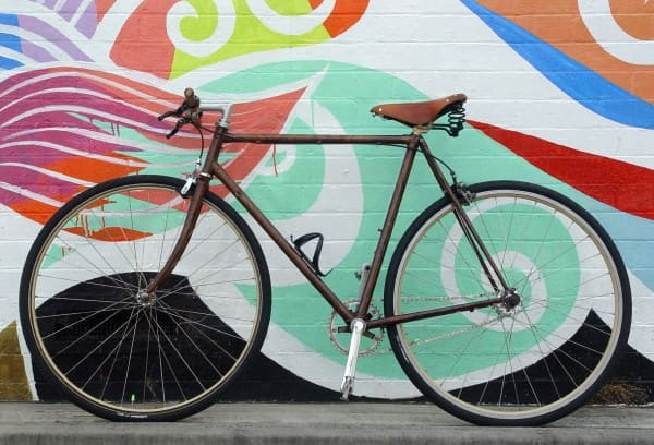 Wood grain are you insane?  in bike friends  with Wood Reused Bike
