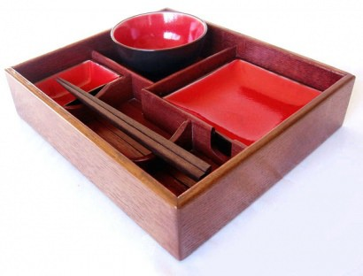 Suteki Box Bento style Sushi tray