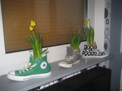 chucks3 Chucks Flowers in accessories  with shoes Flower Converse