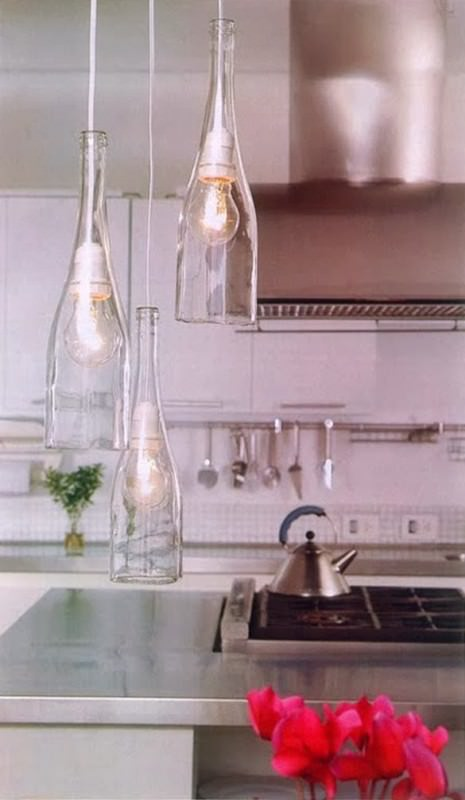 Diy: Easy Way To Cut Glass Bottles Do-It-Yourself Ideas Recycled Glass