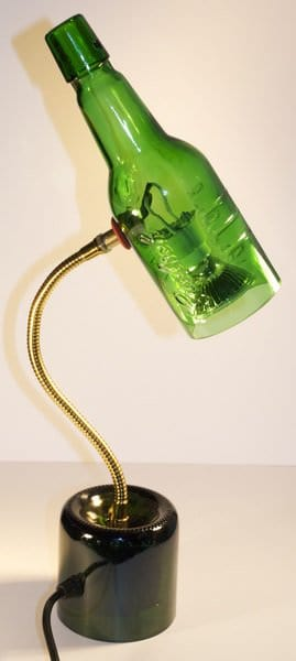 grolsh lamp MAGLOVA recycled glass art in glass  with Glass Art