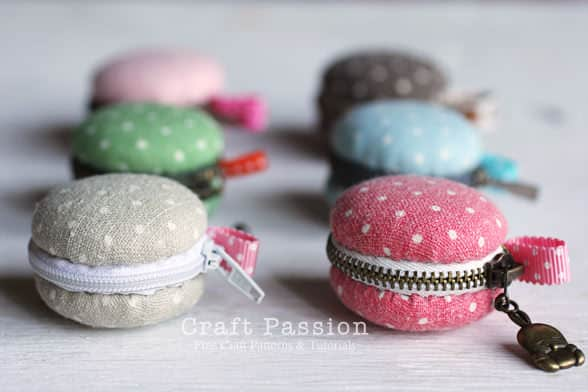 Diy: Macaron Purses Clothing Do-It-Yourself Ideas