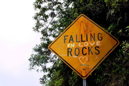 Falling (In Love) Rocks! Interactive, Happening & Street Art