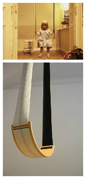 Swing From Upcycled Firehose