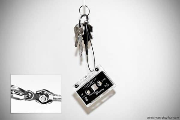 Tape Key Ring Accessories Do-It-Yourself Ideas