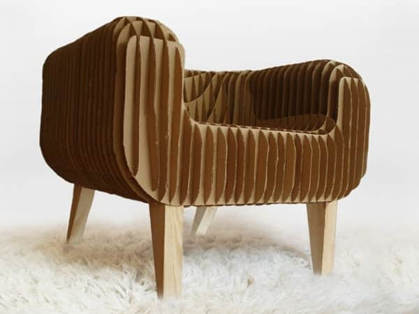 Cardboard Armchair Recycled Cardboard Recycled Furniture