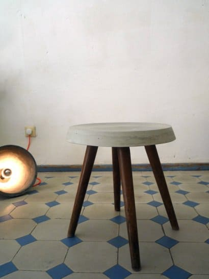 Refurbished stool