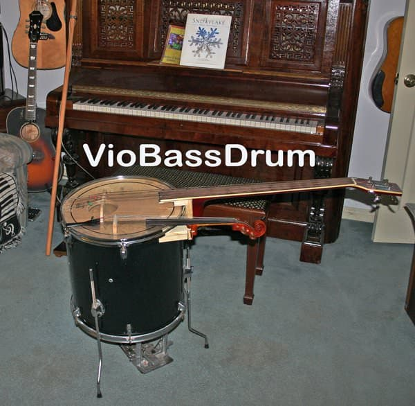 Viobassdrum in diy  with