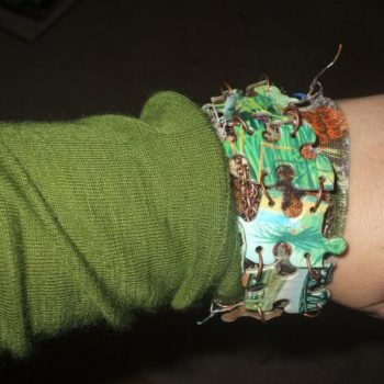 Retro Repurposed Bracelet