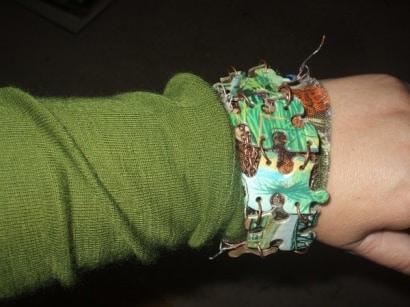 Retro Repurposed Bracelet