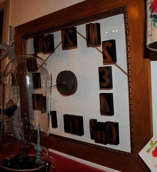 Vintage Framed Clock Accessories