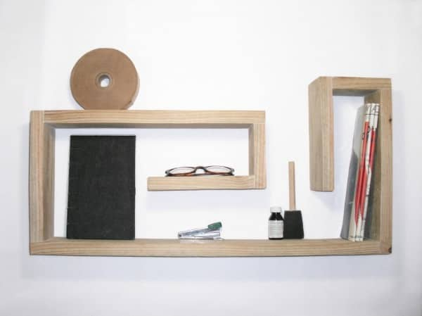 Wooden Shelf Recycled Furniture Wood & Organic