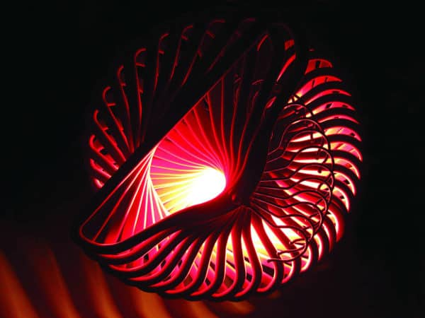 Spiral light underneath LR 600x450 Spiral coat hanger light in lights  with Upcycled Repurposed Recycled Light Lamp