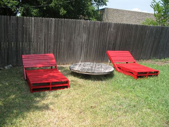 Diy : Pallet Lounge Chairs Do-It-Yourself Ideas Recycled Pallets