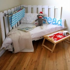DIY : Pallet reading nook