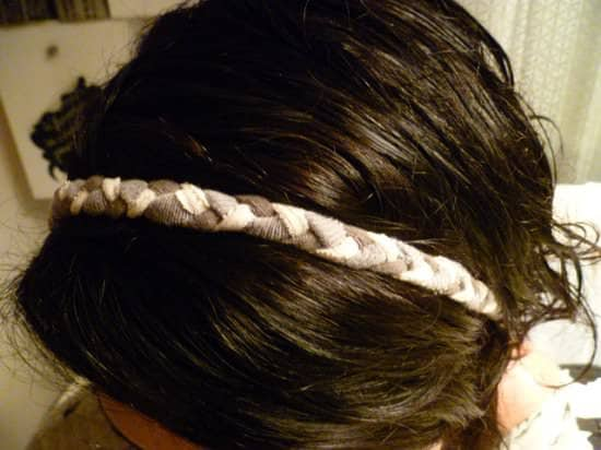 DIY : Headband with old T-shirts Accessories Clothing