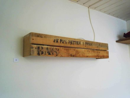 Cratewood Wall-fixture