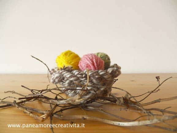 Easter Eggs and Nest Do-It-Yourself Ideas