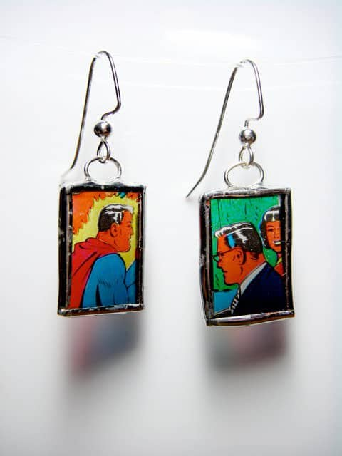 Jewelry From Antique Games and Toys Accessories Recycled Art Upcycled Jewelry Ideas