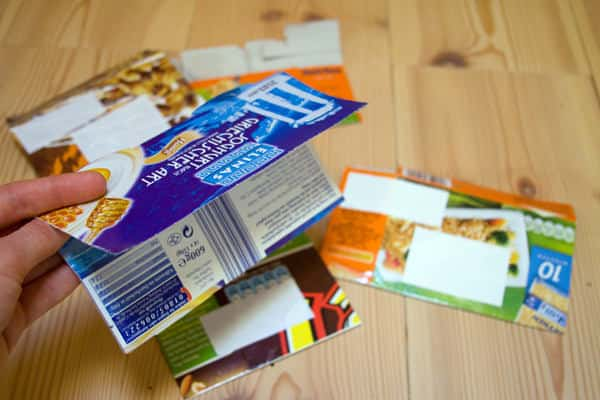 Recycle Your Packages Challenge Update: Recycled Food Box Envelopes Do-It-Yourself Ideas Recycled Packaging
