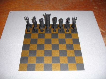 Imperial Nuts and Bolts Chess set