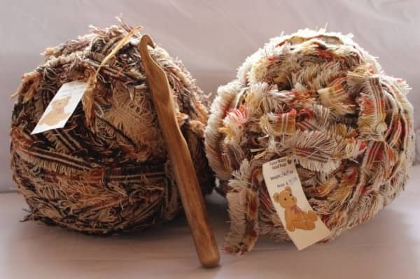 Fuzzy Wuzzy Wool Rug Clothing Do-It-Yourself Ideas