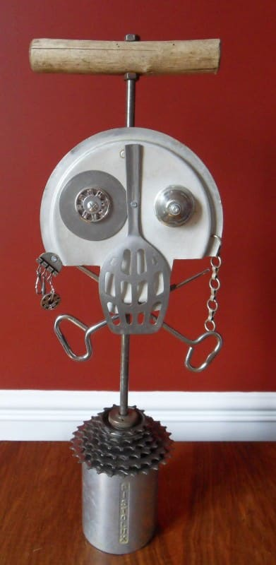 Skull Art Part 2 Recycled Art Recycling Metal