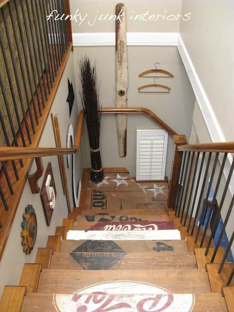 Funky Junk Stairs Home Improvement Recycled Furniture