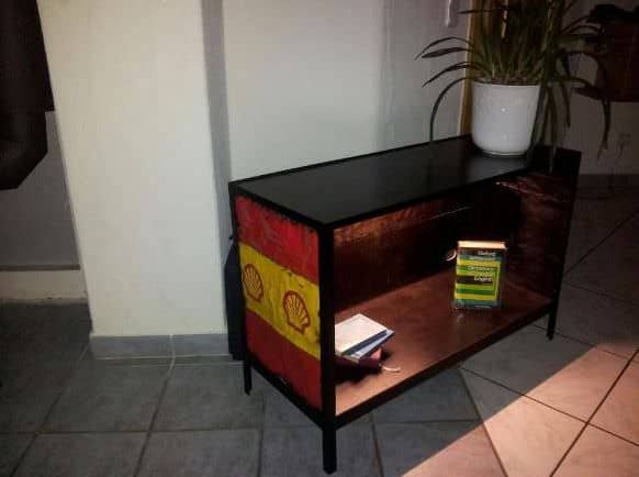 TV Stand Recycled Furniture Recycling Metal
