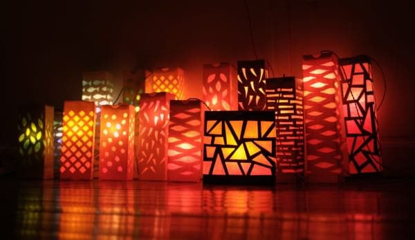 The 16 Lanterns of the Baker Lamps & Lights