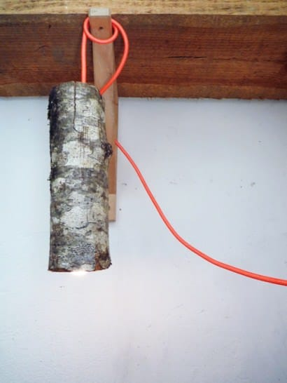 Log Lamp